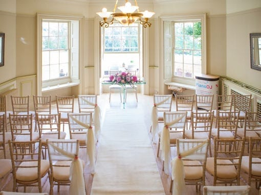 Wedding Packages: Wedding Ceremony - The Lakeview Lounge