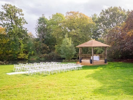 Wedding Packages: Wedding Ceremony - Outdoor Gazebo