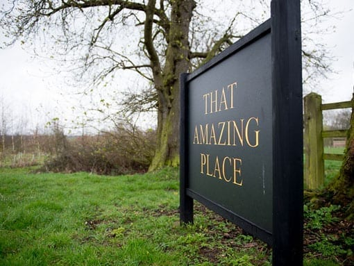 THAT AMAZING PLACE – SIGN