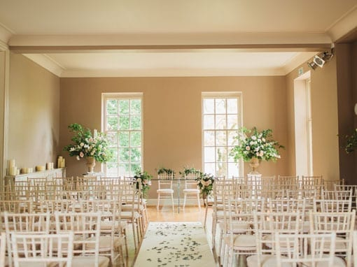 Wedding Packages: Wedding Ceremony - The Hall