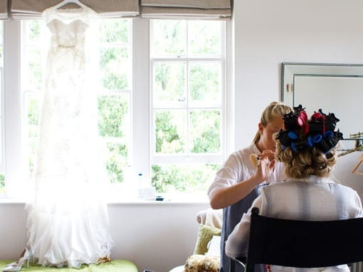 Rob & Stacey – Getting ready