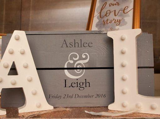 ASHLEE & LEIGH – WEDDING