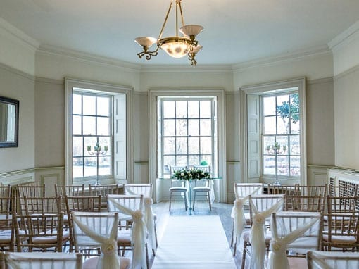 Small Intimate Weddings - Ceremony in The Lakeview Lounge