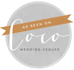 As seen on Coco Wedding Venues
