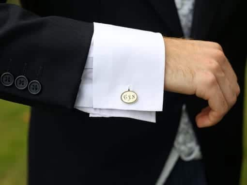 CHARLOTTE & CHRIS – CUFFLINKS