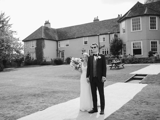 VICTORIA & JOEL – IN FRONT OF HOUSE