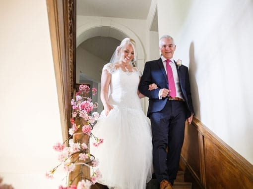 Lauren & Rob – Bride and Father