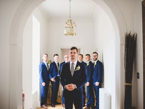 SIAN & ANDREW – THE GROOM
