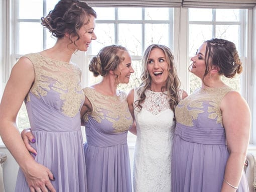 TANIA & MATT – BRIDE AND HER BRIDESMAIDS