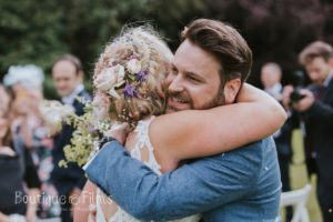 Wedding Photo At That Amazing Place Countryside Wedding Venue For Siobhan & Richard