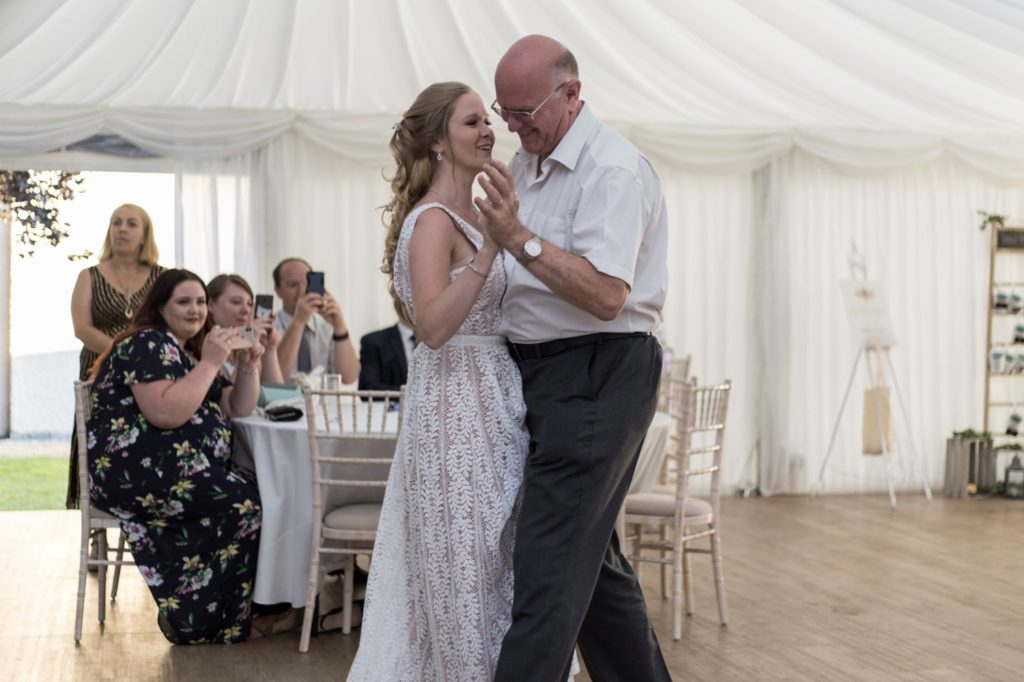 Wedding Stories That Amazing Place Teresa & Ugnius July 2019 First Dance With Father