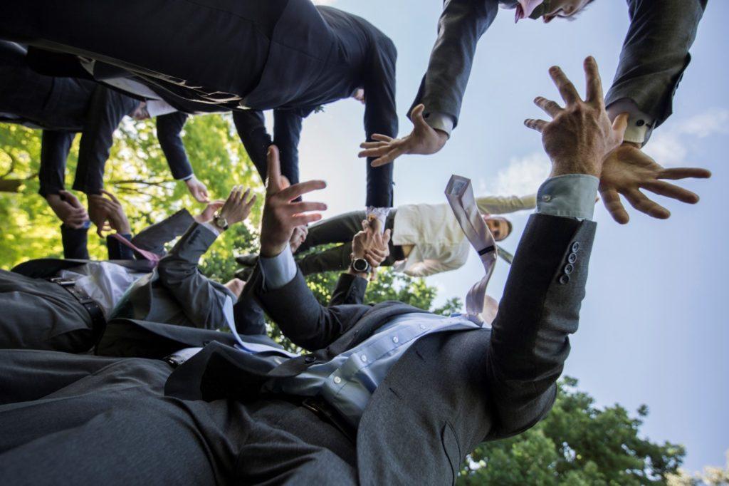 Wedding Stories That Amazing Place Teresa & Ugnius July 2019 Groom Throwing