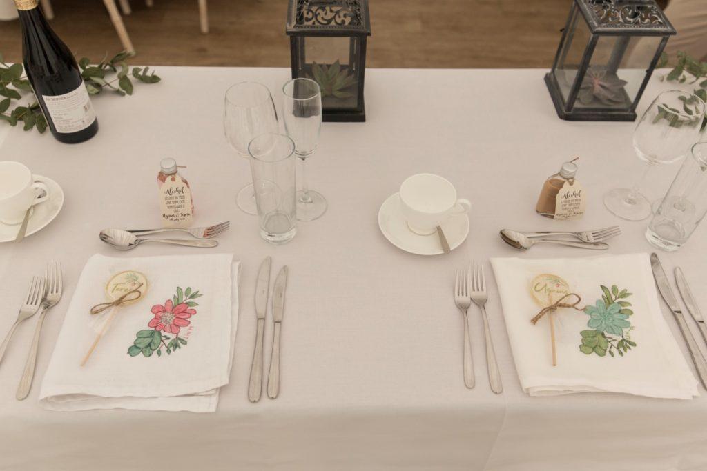 Wedding Stories That Amazing Place Teresa & Ugnius July 2019 Handmade Table Decorations