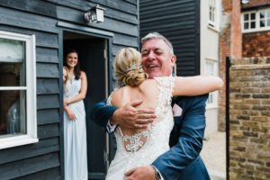 Natalie and Matt Wedding Story at That Amazing Place Essex Wedding Meeting Dad