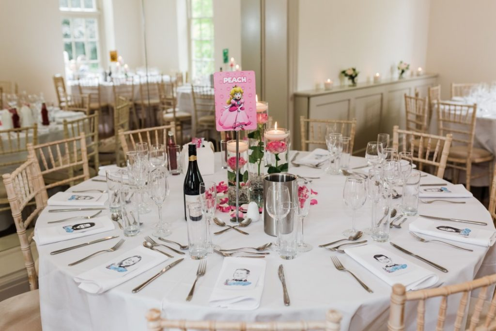 Natalie and Matt Wedding Story at That Amazing Place Essex Wedding Venue Mario Table Layout