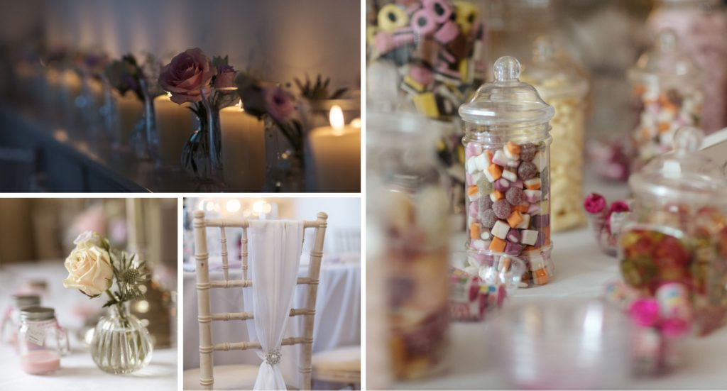 Adele and Doug's big day Lakeview Room at Reception Room dressed exclusive essex wedding venue theme