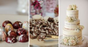 Deserts by Premier Crew at That Amazing Place wedding venue