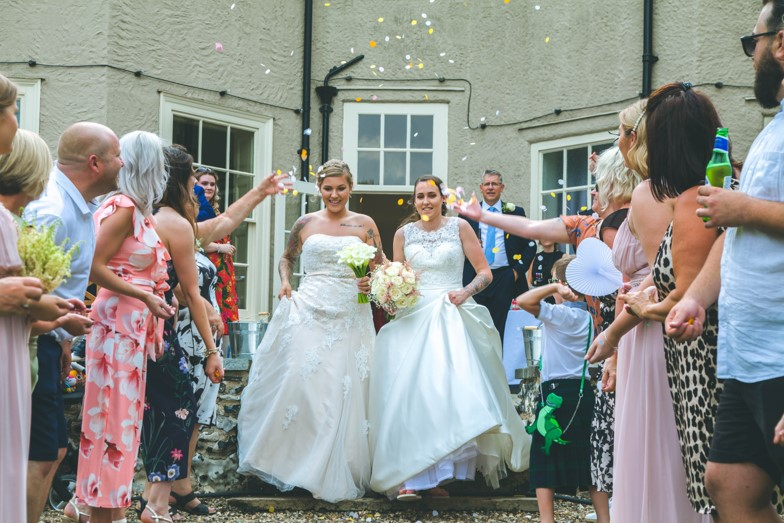 Lucy and Vicky Dream Day Wedding Stories at That Amazing Place Feautured Image
