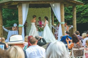 Lucy and Vicky Dream Day Wedding Stories at That Amazing Place Summer Wedding