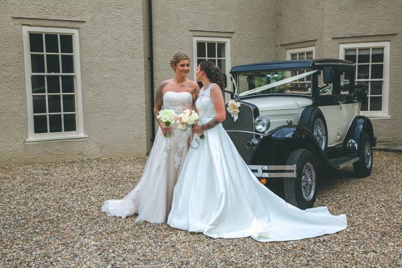 Lucy and Vicky Dream Day Wedding Stories at That Amazing Place Wedding Dresses