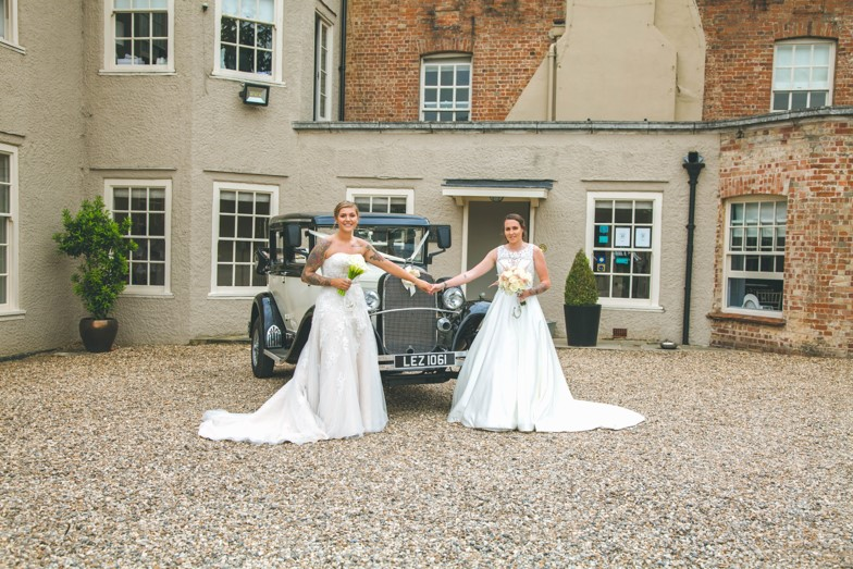 Lucy and Vicky Dream Day Wedding Stories at That Amazing Place Wedding Venue Essex