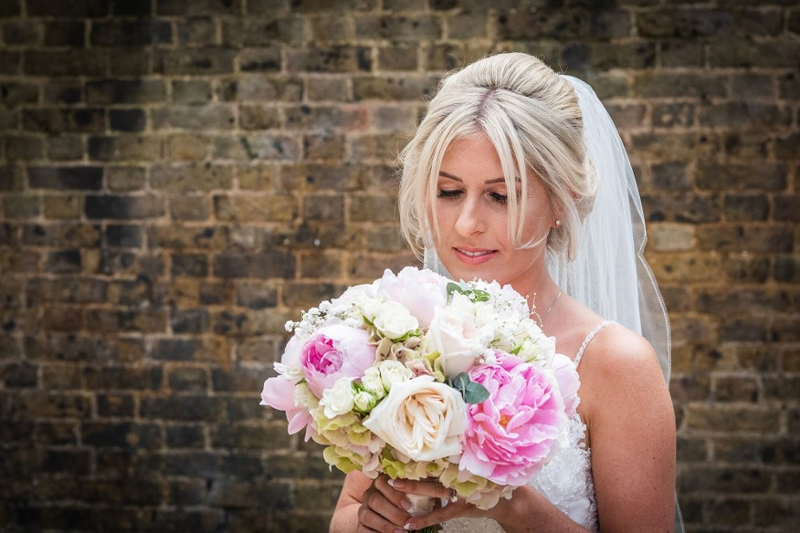 Rosa And Alex Wedding Stories at That Amazing Place Wedding Venue Harlow Flowers Bouquet