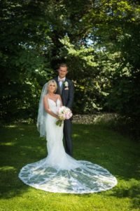 Rosa And Alex Wedding Stories at That Amazing Place Wedding Venue Harlow Wedding Dress Full