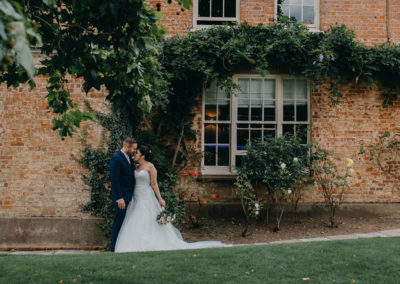Samantha and Andrew Wedding at That Amazing Place Harlow Essex Wedding Venue Bride & Groom