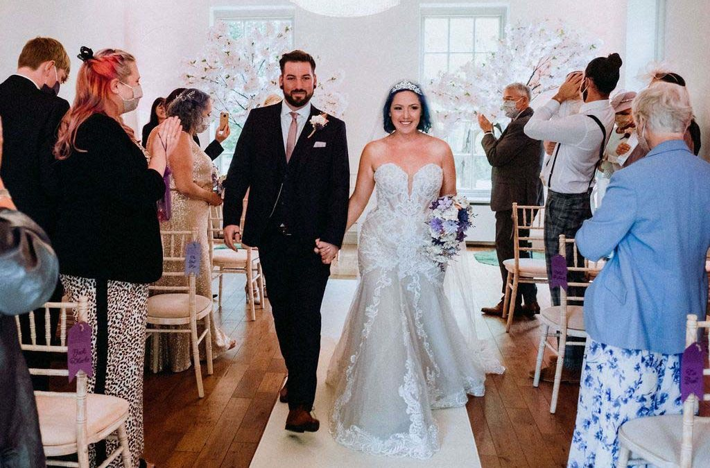 Melissa & Tom Tie The Knot At That Amazing Place Wedding Venue Essex