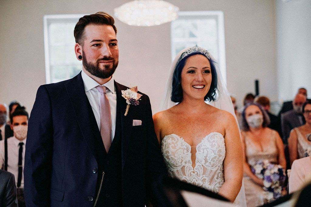 Melissa & Tom Tie The Knot At That Amazing Place Wedding Venue Essex Wedding 2
