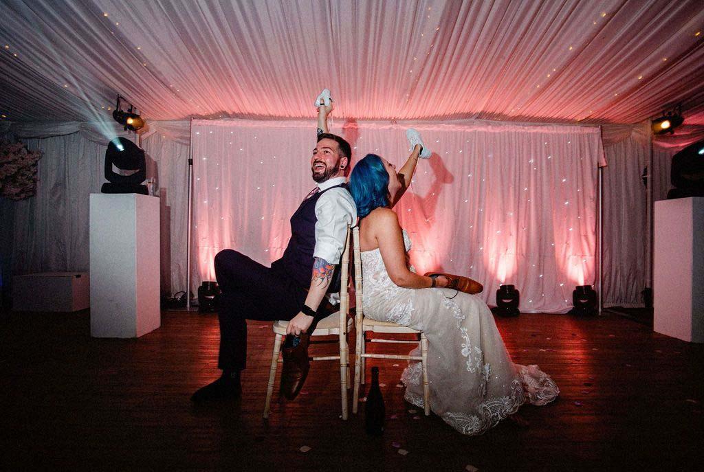 Melissa & Tom Tie The Knot At That Amazing Place Wedding Venue Essex Wedding Having Fun